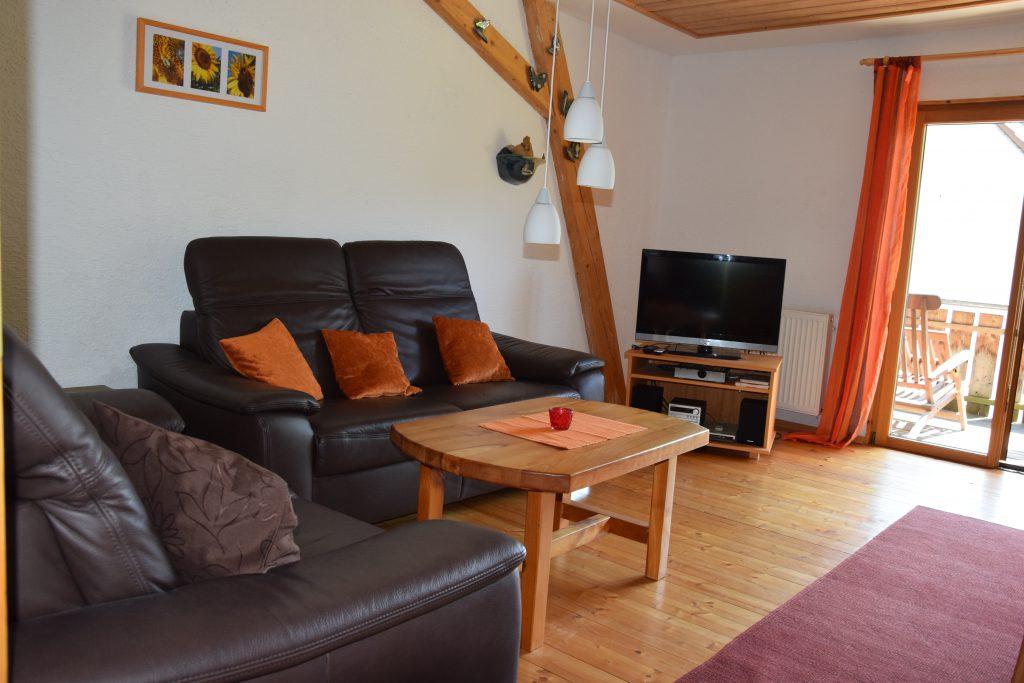 Storchennest Wohnzimmer